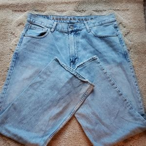 Mens American Eagle Loose Fit Jeans